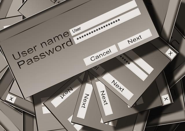 přístupové heslo