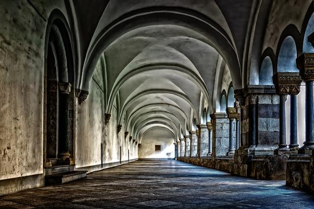 architektura kláštera
