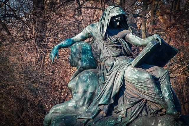 bronzová socha