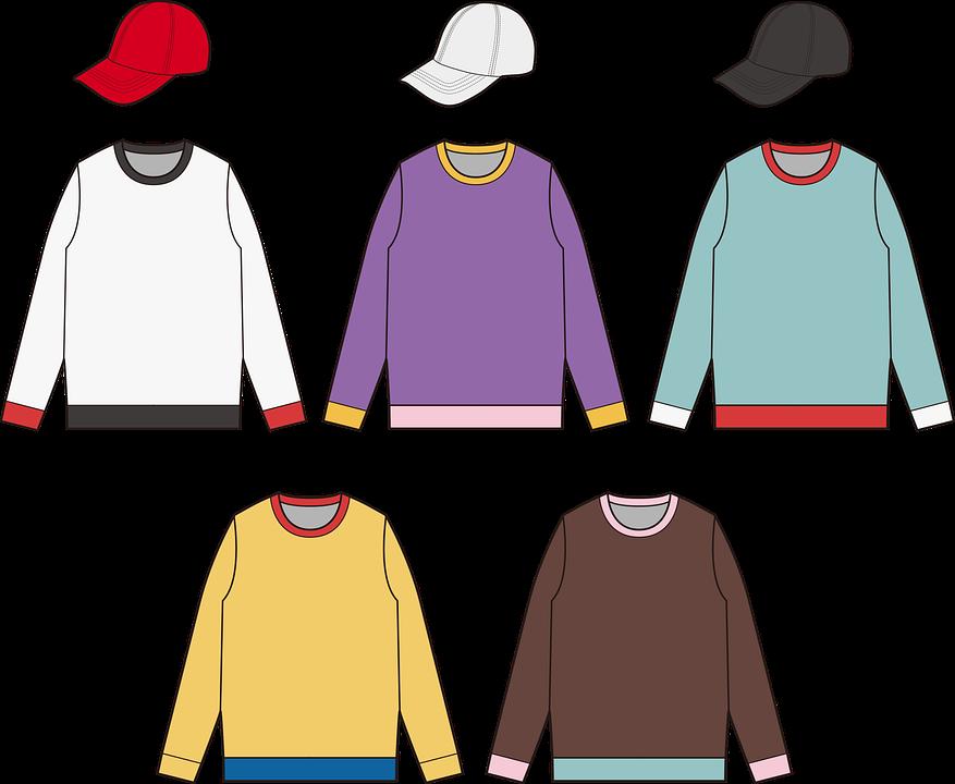 mikiny s čepicemi
